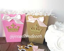 Birthday Favor Boxes by Princess Favor Boxes Etsy