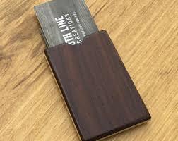 Card Holder Business Business Card Case Etsy
