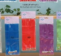 bags plastic packaging 9 inch