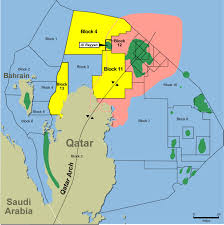 Gulf Of Mexico Block Map by Anadarko Awarded Offshore Block In Qatar May 18 2004