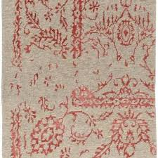 arabesque rug in coral modern chic home