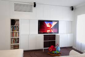 Modern Storage Units Tv Unit Library Kids Storage Unit With Hidden Air Con Unit Www