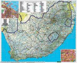 Map South Africa Map Of South Africa Freytag U0026 Berndt U2013 Mapscompany