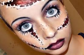 21 creative halloween makeup ideas halloween colored contacts