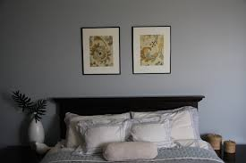 bedroom spacious modern bedroom with entire wall window and also bedroom with gray palette and double framed floral paintings for bedroom art ideas full