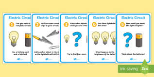electricity construct a simple series electrical page 1