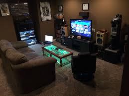 Living Room Setup Gamer Living Room Artistic Color Decor Top Under Gamer Living Room