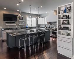 contemporary white kitchen in allentown pa morris black