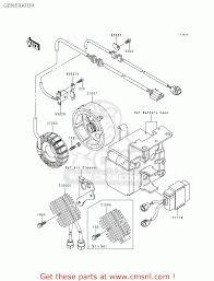kawasaki klf300 b13 bayou300 2000 usa california canada generator