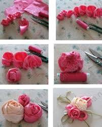 cara membuat bunga dari kertas pita jepang tutorial cara membuat bunga dari pita felt pattern pinterest