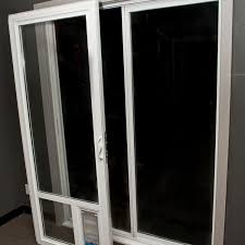doggie door in glass door glass door patio doors jialz office waiting room chairs fold up
