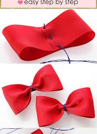ribbon bow how to make a bow with a ribbon how to make a bow i easy ribbon