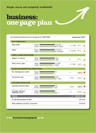 ad one page business plan plus cmerge