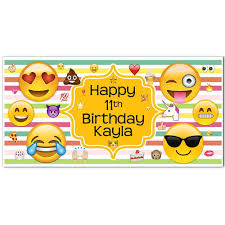 thanksgiving backdrop emoji banner rainbow birthday personalized party backdrop paper