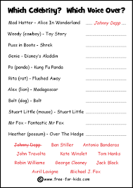 Halloween Trivia Questions Printable Free Celebrity Quiz Sheets