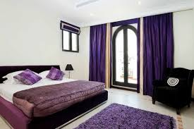 Violet And White Bedroom Bedroom Amazing Purple Bedroom With Purple Modern Bed Also White