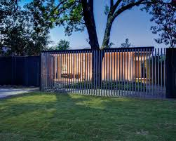Modern Backyard Fence by Deer Fences Houzz
