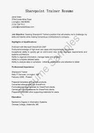Sharepoint Developer Resumes Sharepoint Resume Sample Template Sharepoint Administrator Resume