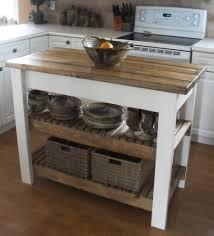 hard maple wood natural shaker door kitchen island butcher block