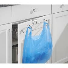 Interdesign Bathroom Accessories by Interdesign Classico Over The Cabinet Plastic Bag Holder For