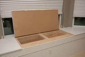 interior how to make a storage bench seat luxury under window