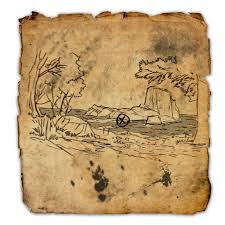 treasure map betnikh treasure map ii elder scrolls wiki