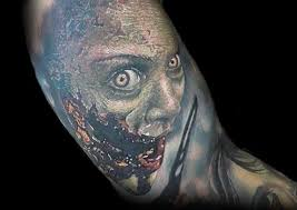 43 stupendous evil dead tattoo designs that shows your skin scary