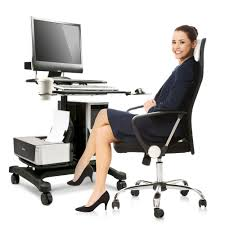sit stand computer desk sit and stand computer workstation