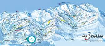 Piste Maps For Italian Ski by La Tania Piste Map Courchevel Piste Map 2018 Three Valleys Piste Map