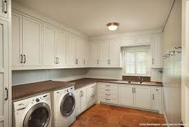 White Cabinets For Laundry Room Sallyl Dillon Kyle Architecture Large Laundry Room With