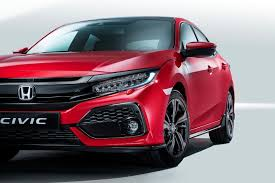 honda civic 2017 new 2017 honda civic hatchback officially unveiled by car magazine