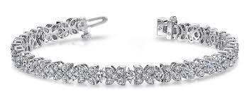 diamond flower bracelet images Largest collection of antique vintage diamond bracelets jpg