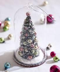 raz imports tree in glass dome ornaments