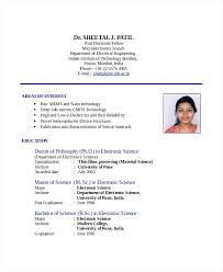 sample resume for engineering freshers best resume format