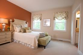 bedroom featuring sherwin williams u0027earthen jug u0027 with jack and