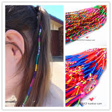 boho hair wraps 60pcs lot free shipping boho multi color beauty diy hair wrap
