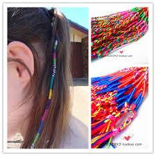 boho hair wrap 60pcs lot free shipping boho multi color beauty diy hair wrap