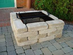 Square Firepit Square Pit Modern Kit From Southern Tradition With Regard To