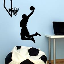 sports wall decals bring inspiration to your boy s bedroom online get cheap sports wall sticker basketball nba aliexpress intended for sports wall decals image