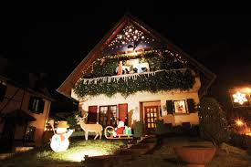 Outdoor Xmas Decorations by Lighted Outdoor Christmas Decorations U2014 All Home Design Ideas