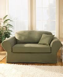 amazon com sure fit twill supreme universal sofa slipcover