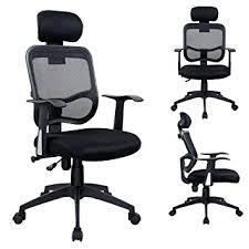 fauteuils de bureaux duhome 0391 fauteuil de bureau à bascule dossier filet ergonomique