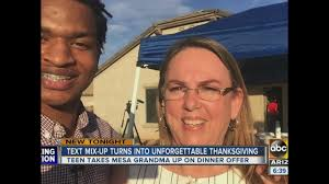 thanksgiving in phoenix grandma meets phoenix teen after accidentally inviting him over