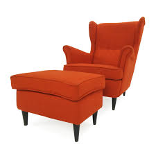 Orange Ikea Sofa by Furniture Ikea Leather Chair Genuine Leather Sofa Leather