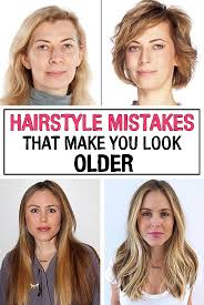 bangs make you look younger hairstyle mistakes that make you look older iwomenhacks