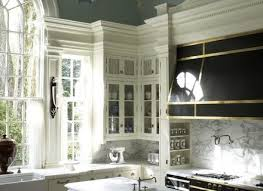 kitchen crown molding ideas marble crown molding kitchen cabinet honeycuttlee