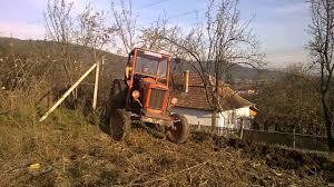 tractor fiat 411 la arat youtube