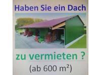 dachfläche vermieten dachflächen zur miete für solaranlage ab 400qm in bayern