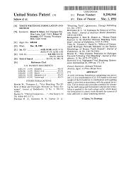 patent us5290566 tooth whitening formulation and method google