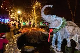 holiday lights safari 2017 november 17 st louis zoo s wild lights christmas display